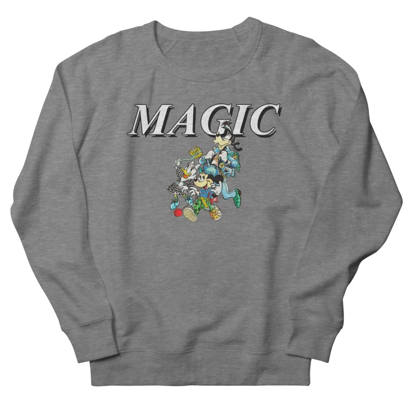 Magic Men's French Terry Sweatshirt by USUWE by Pugs Atomz