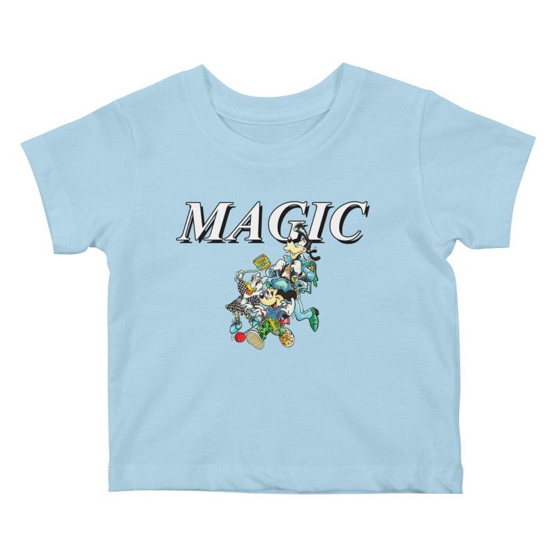 Magic Kids Baby T-Shirt by USUWE by Pugs Atomz