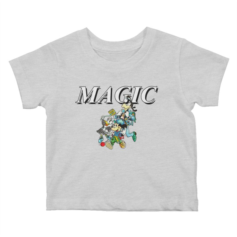 Magic Kids Baby T-Shirt by USUWE by Pugs Atomz