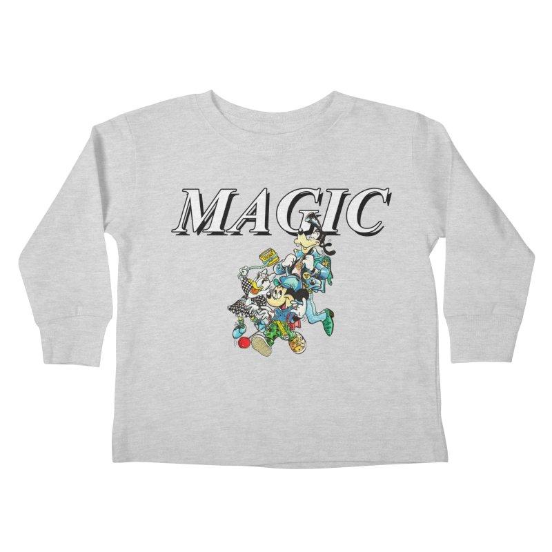 Magic Kids Toddler Longsleeve T-Shirt by USUWE by Pugs Atomz