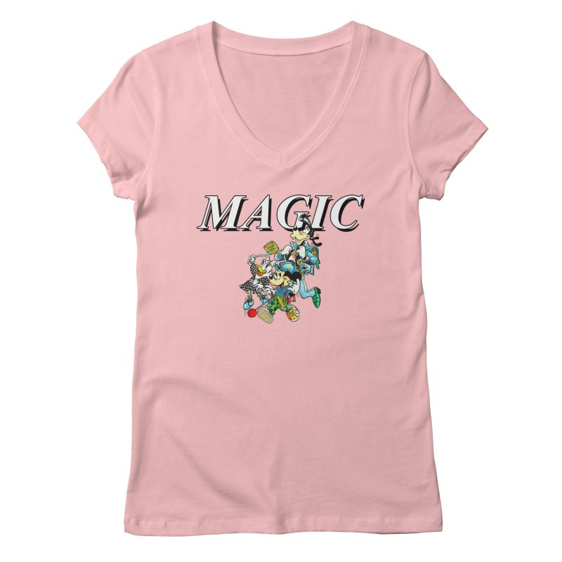 Magic Women's V-Neck by USUWE by Pugs Atomz