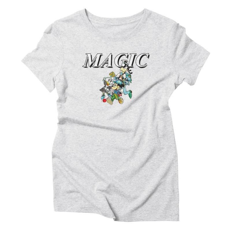 Magic Women's Triblend T-Shirt by USUWE by Pugs Atomz