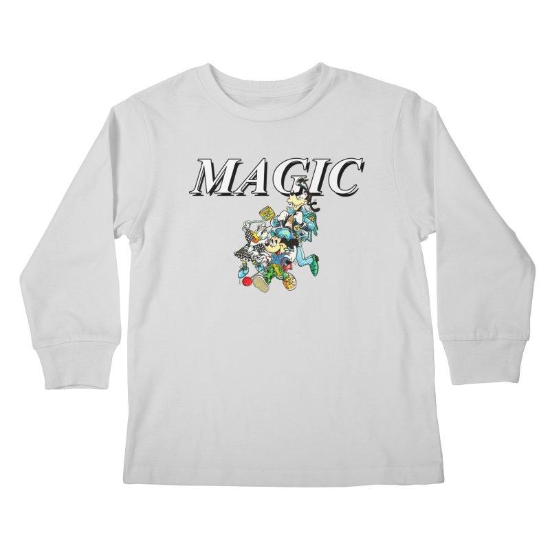 Magic Kids Longsleeve T-Shirt by USUWE by Pugs Atomz