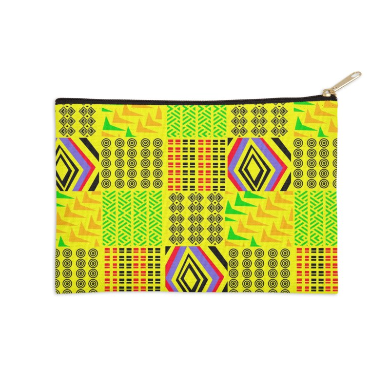 Tribe vibes Accessories Zip Pouch by USUWE by Pugs Atomz