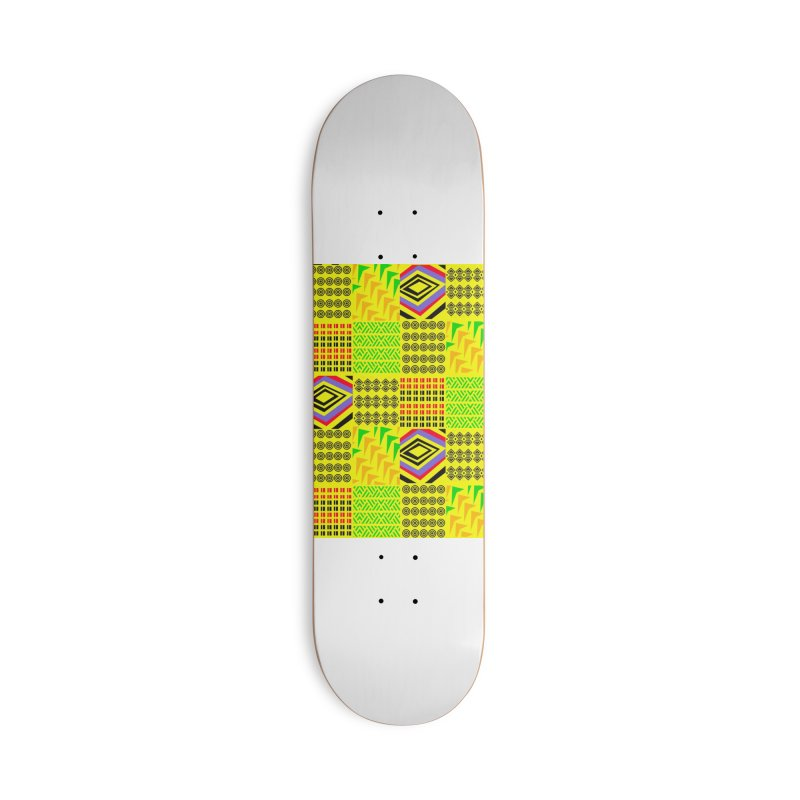 Tribe vibes Accessories Deck Only Skateboard by USUWE by Pugs Atomz