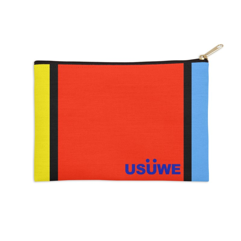 C Block Pouch Accessories Zip Pouch by USUWE by Pugs Atomz