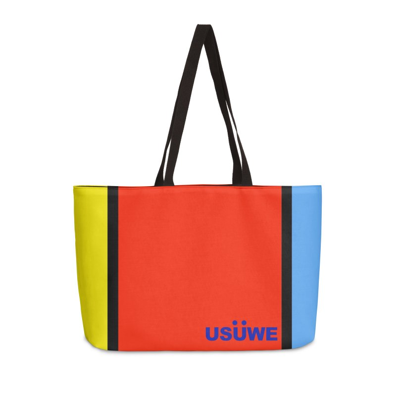 C Block Pouch Accessories Weekender Bag Bag by USUWE by Pugs Atomz