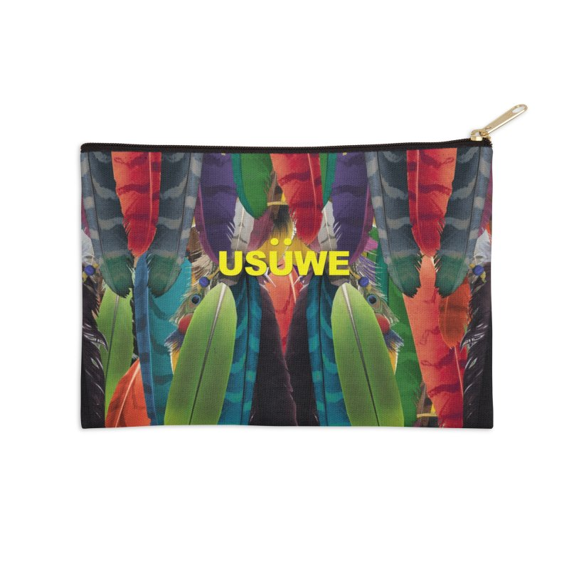 Dream Catcher Accessories Zip Pouch by USUWE by Pugs Atomz