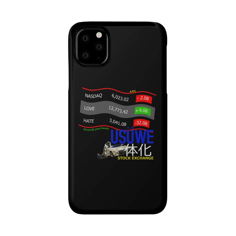 STOCK EXCHANGE Accessories Phone Case by USUWE by Pugs Atomz