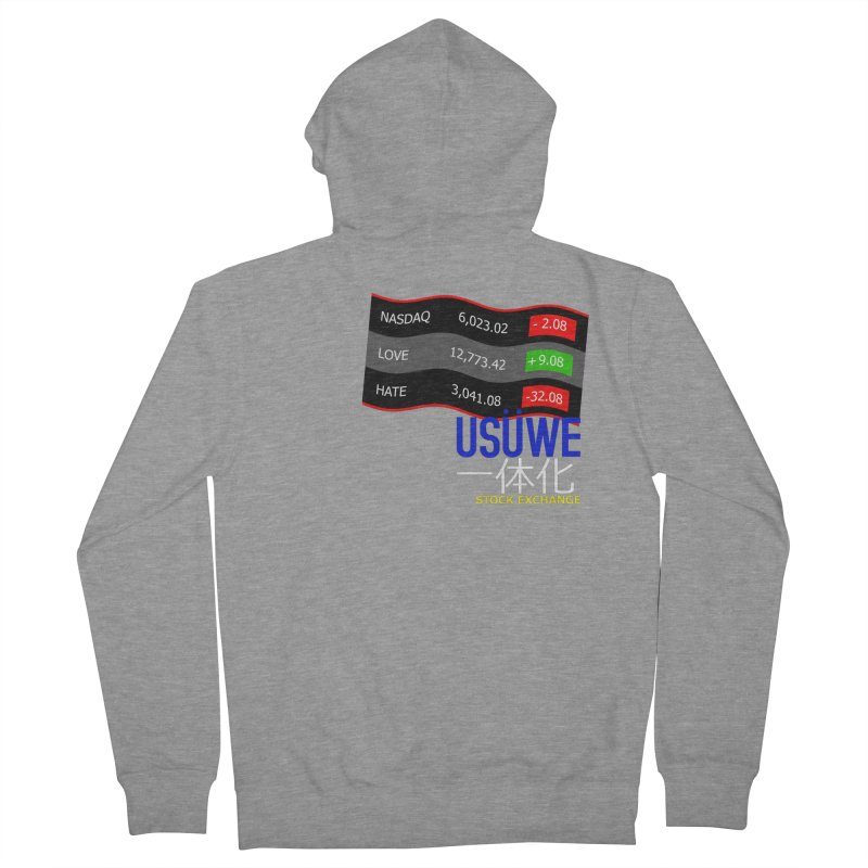 STOCK EXCHANGE Women's Zip-Up Hoody by USUWE by Pugs Atomz