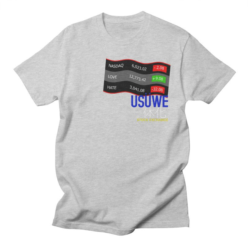 STOCK EXCHANGE Women's Unisex T-Shirt by USUWE by Pugs Atomz