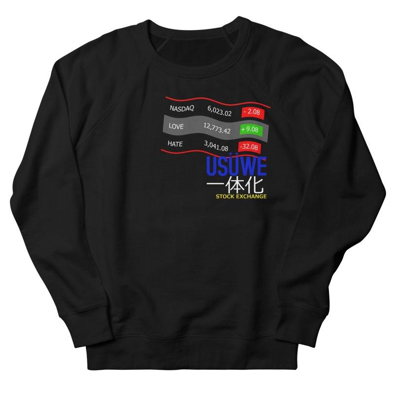 STOCK EXCHANGE Men's Sweatshirt by USUWE by Pugs Atomz