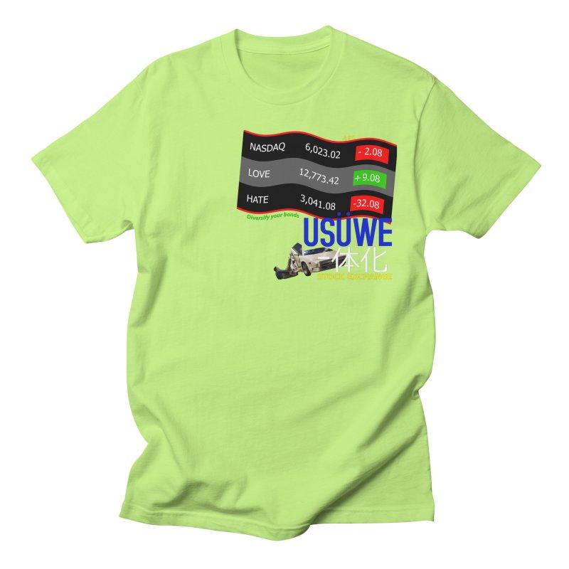 STOCK EXCHANGE Women's Regular Unisex T-Shirt by USUWE by Pugs Atomz