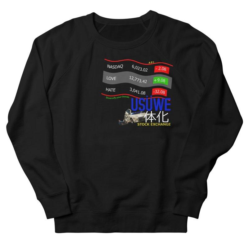 STOCK EXCHANGE Men's French Terry Sweatshirt by USUWE by Pugs Atomz
