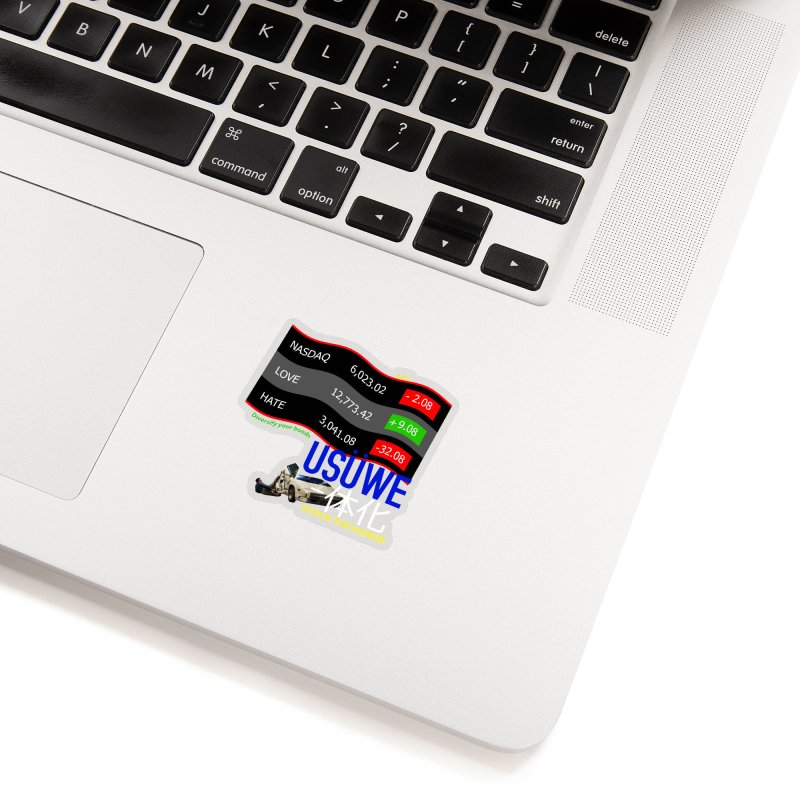 STOCK EXCHANGE Accessories Sticker by USUWE by Pugs Atomz