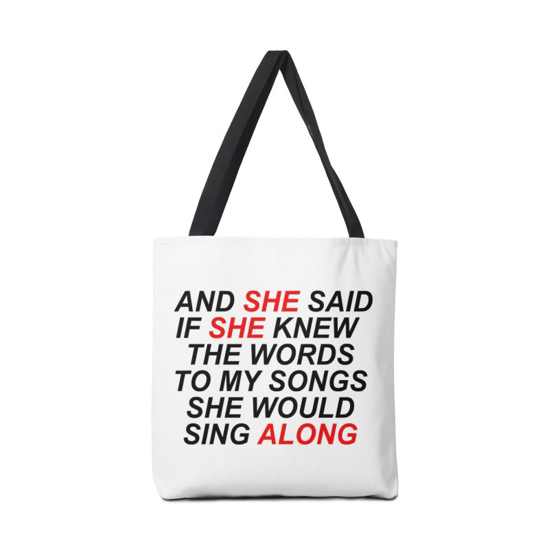 TEAR Accessories Tote Bag Bag by USUWE by Pugs Atomz
