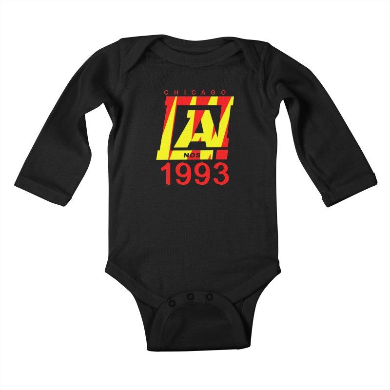 Nacrobats 1993 Kids Baby Longsleeve Bodysuit by USUWE by Pugs Atomz