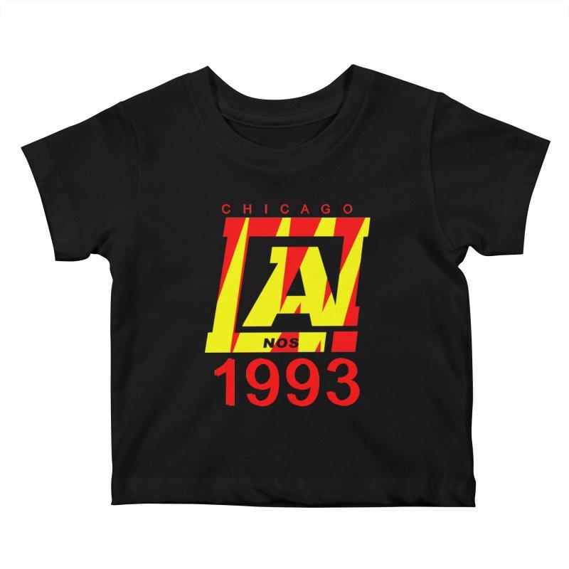 Nacrobats 1993 Kids Baby T-Shirt by USUWE by Pugs Atomz