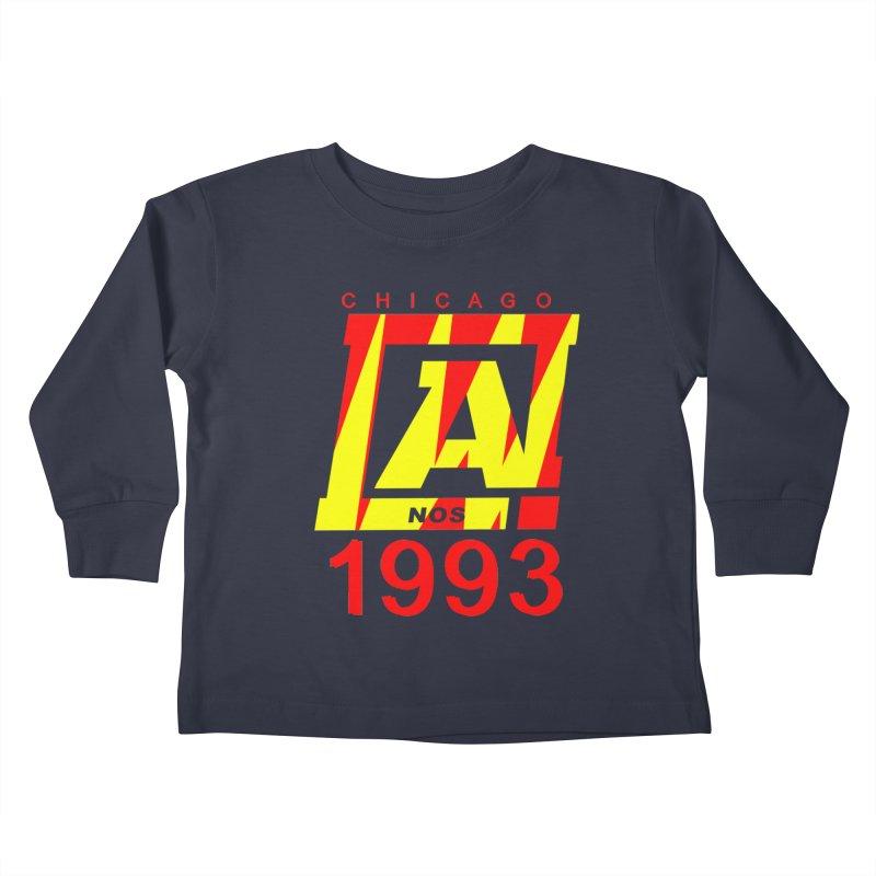 Nacrobats 1993 Kids Toddler Longsleeve T-Shirt by USUWE by Pugs Atomz