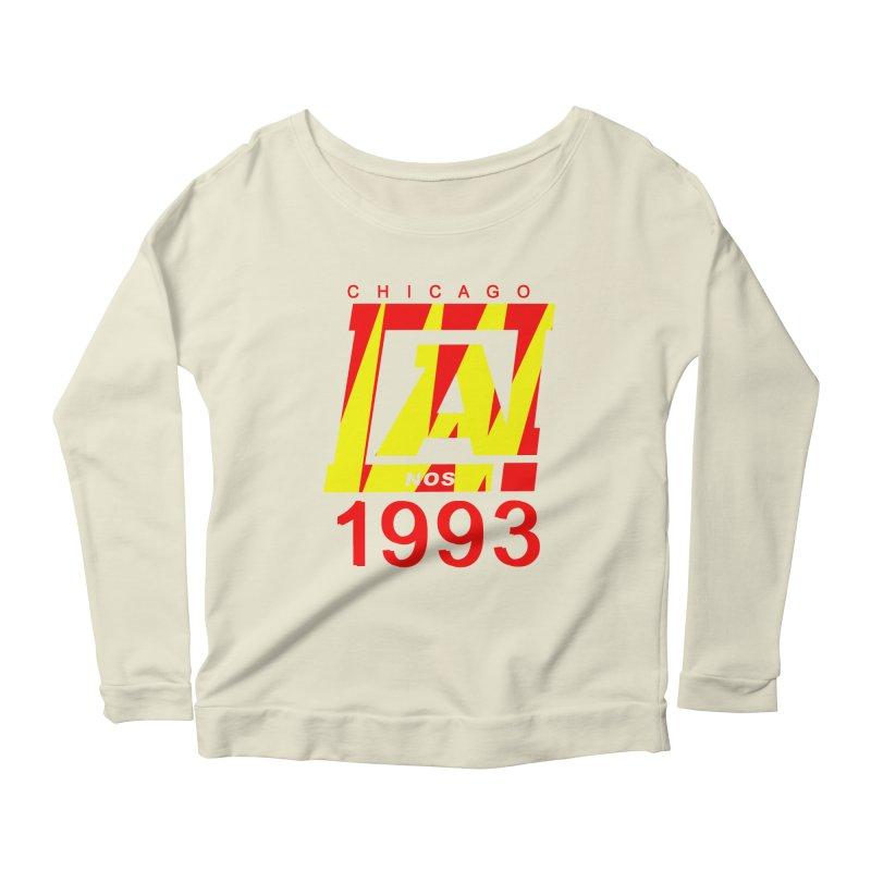 Nacrobats 1993 Women's Scoop Neck Longsleeve T-Shirt by USUWE by Pugs Atomz