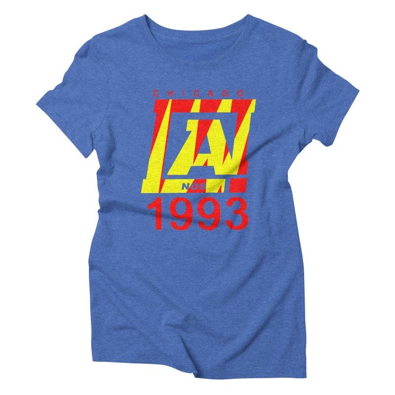 Nacrobats 1993 Women's Triblend T-Shirt by USUWE by Pugs Atomz