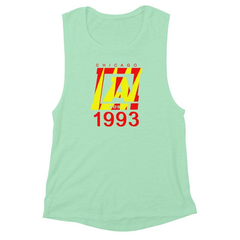 Nacrobats 1993 Women's Muscle Tank by USUWE by Pugs Atomz