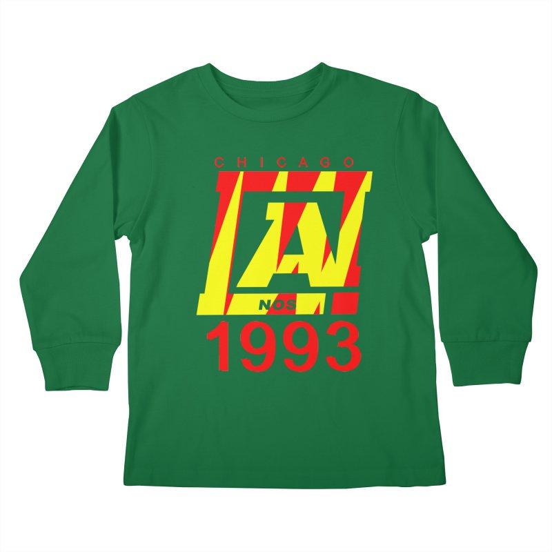 Nacrobats 1993 Kids Longsleeve T-Shirt by USUWE by Pugs Atomz