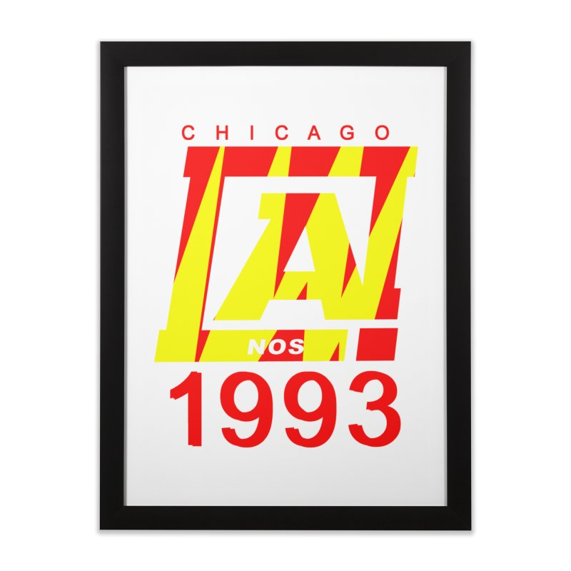 Nacrobats 1993 Home Framed Fine Art Print by USUWE by Pugs Atomz