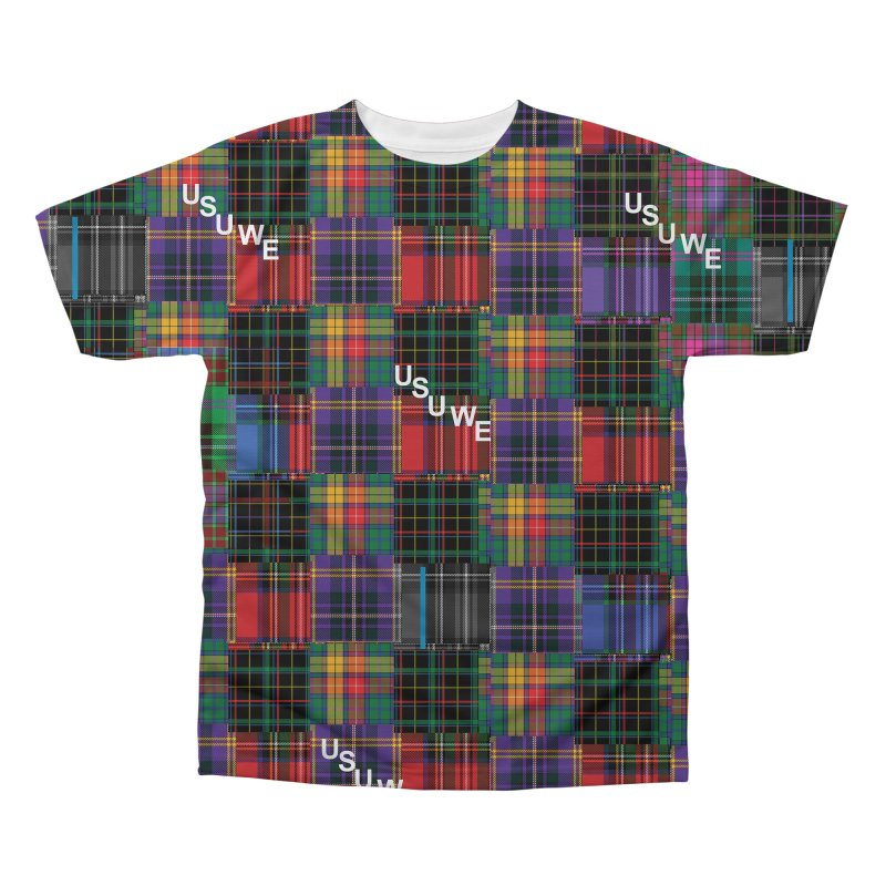Tartan Patchwork in Men's Regular All Over Print by USUWE by Pugs Atomz