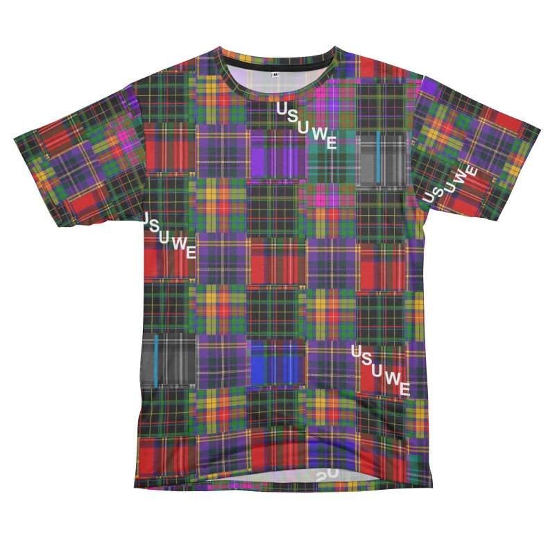 Michigan Ave. Plaid Men's Cut & Sew by USUWE by Pugs Atomz