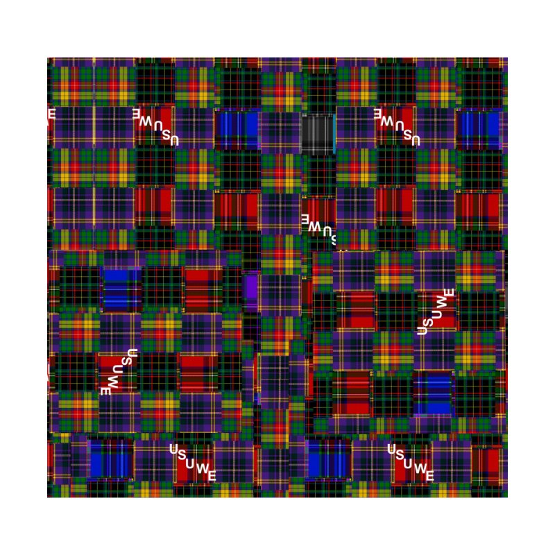 Tartan Patchwork Men's All Over Print by USUWE by Pugs Atomz