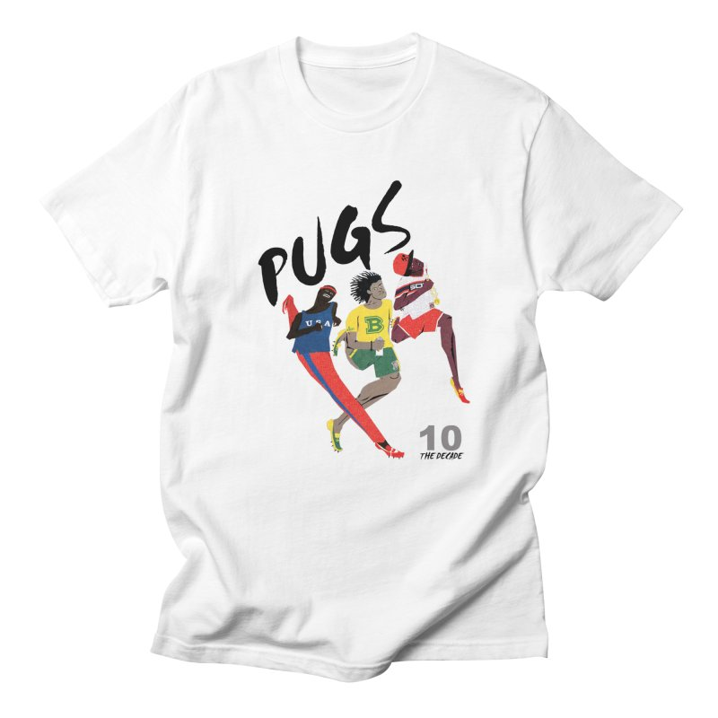 The Decade in Men's Regular T-Shirt White by USUWE by Pugs Atomz