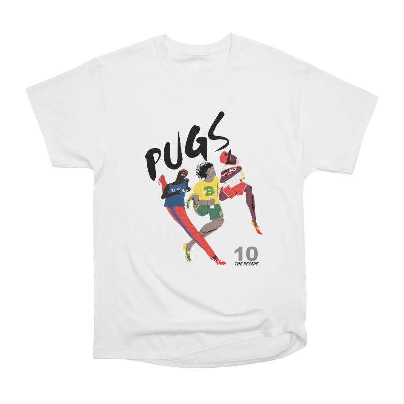 The Decade Men's Heavyweight T-Shirt by USUWE by Pugs Atomz