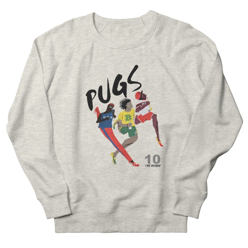 The Decade Men's French Terry Sweatshirt by USUWE by Pugs Atomz
