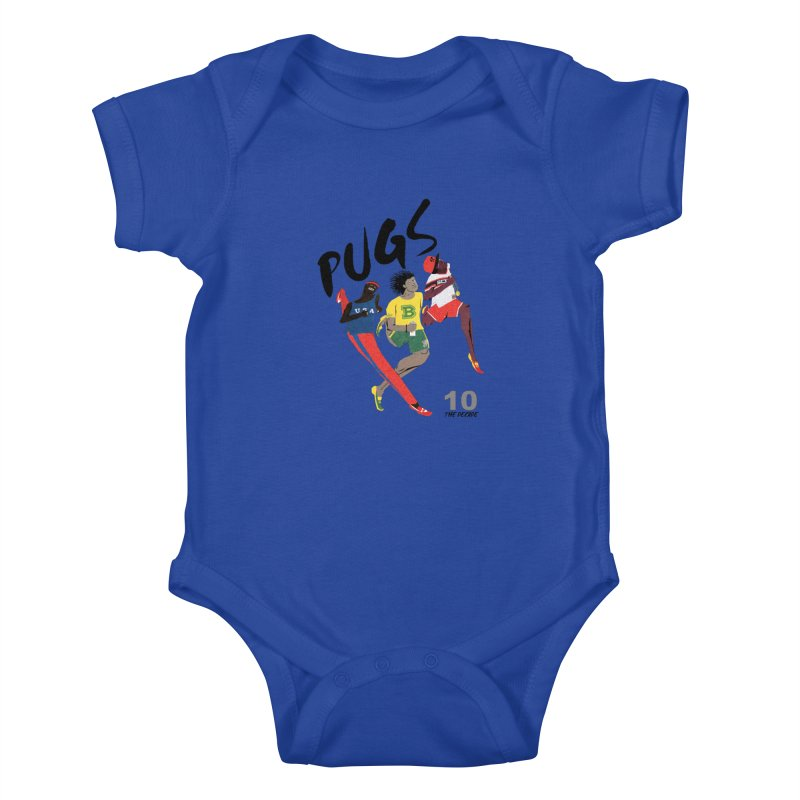 The Decade Kids Baby Bodysuit by USUWE by Pugs Atomz