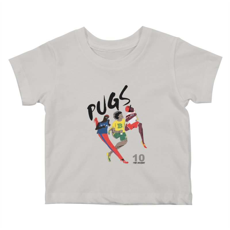 The Decade Kids Baby T-Shirt by USUWE by Pugs Atomz