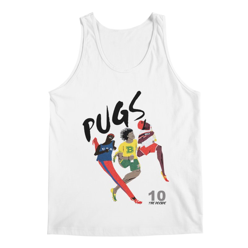 The Decade Men's Regular Tank by USUWE by Pugs Atomz