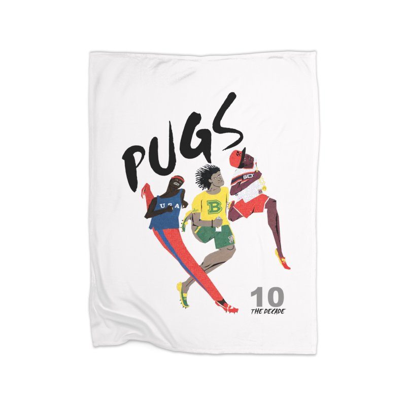 The Decade Home Fleece Blanket Blanket by USUWE by Pugs Atomz