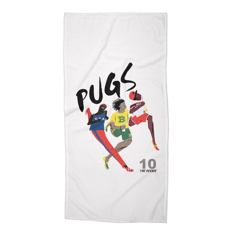 The Decade Accessories Beach Towel by USUWE by Pugs Atomz
