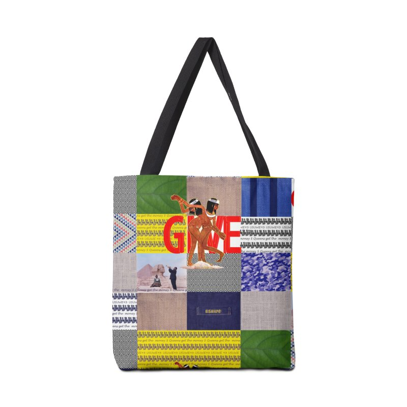 Queens Get the money Accessories Tote Bag Bag by USUWE by Pugs Atomz