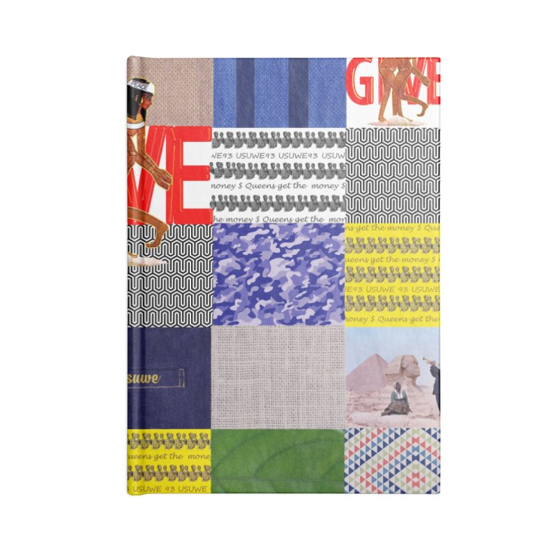 Queens Get the money Accessories Blank Journal Notebook by USUWE by Pugs Atomz