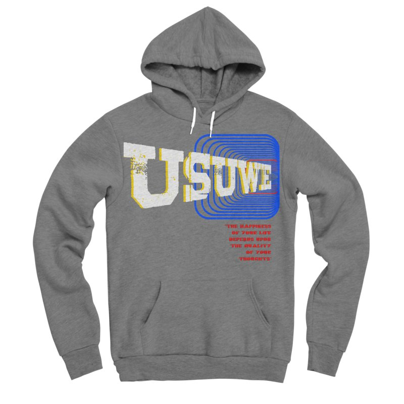 Perspective Men's Sponge Fleece Pullover Hoody by USUWE by Pugs Atomz