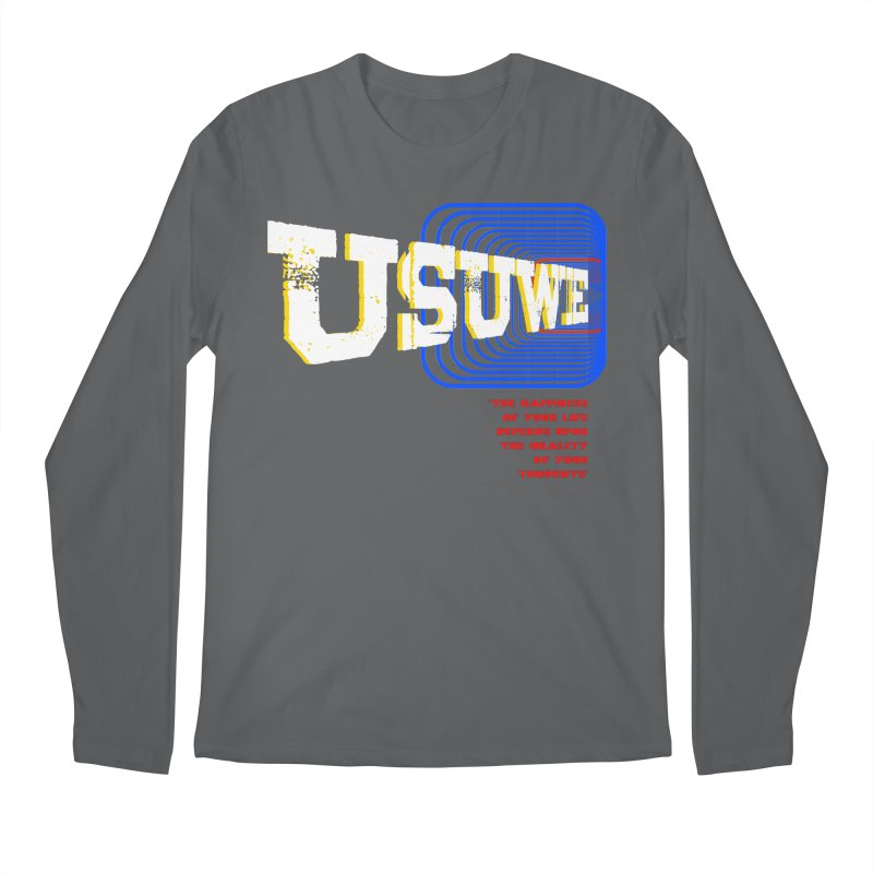 Perspective Men's Regular Longsleeve T-Shirt by USUWE by Pugs Atomz