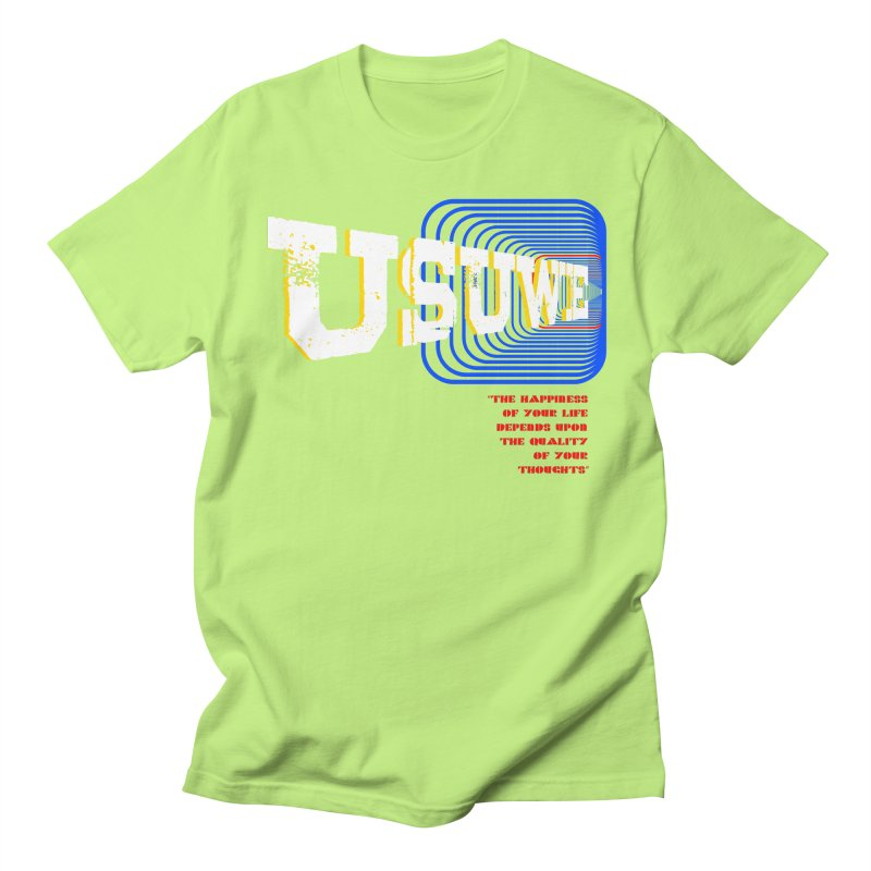 Perspective Men's Regular T-Shirt by USUWE by Pugs Atomz