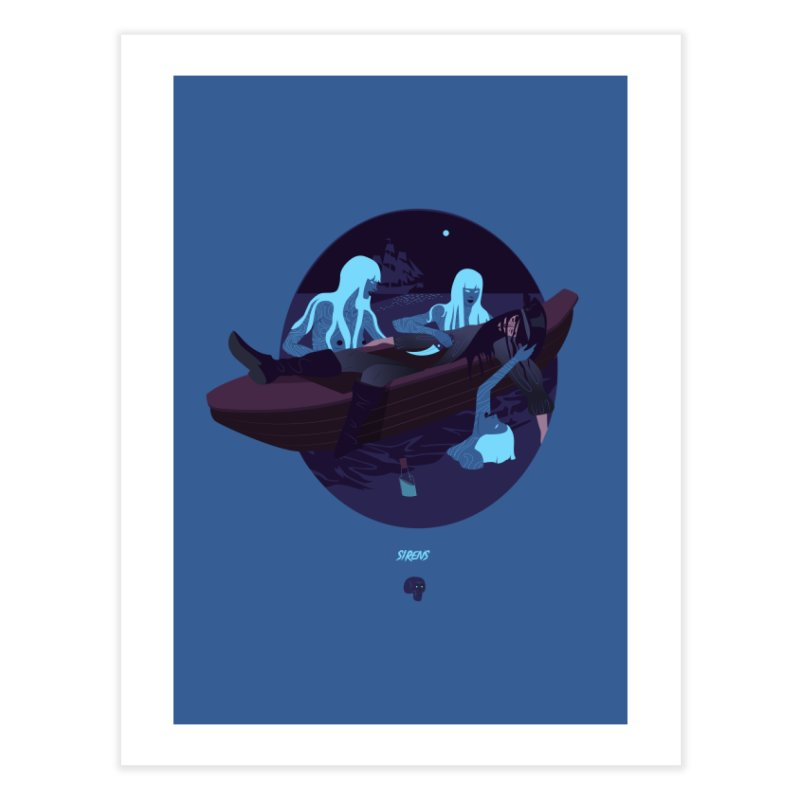 Sirens Home Fine Art Print by Utter Garbage Nonsense