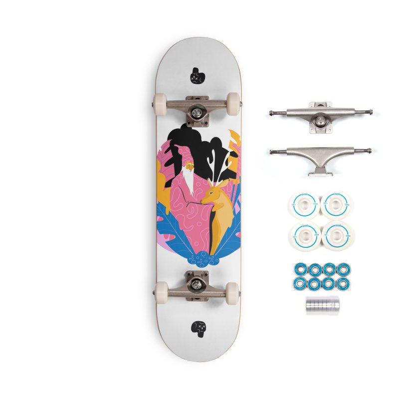 Forest Shaman Accessories Skateboard by Utter Garbage Nonsense