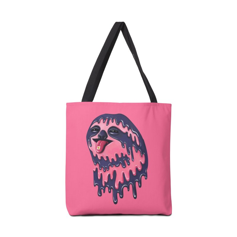 Psychedelic Sloth Accessories Bag by Utter Garbage Nonsense