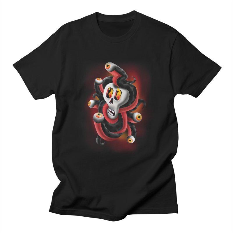 Snake Eyes Men's T-Shirt by Utter Garbage Nonsense