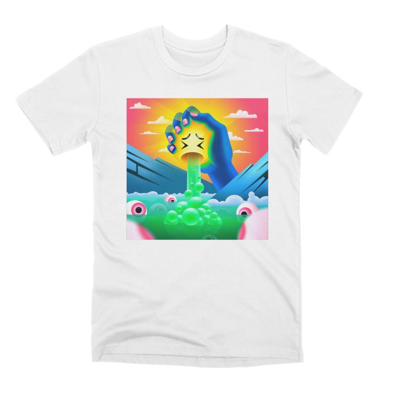 The squeeze Men's T-Shirt by Utter Garbage Nonsense