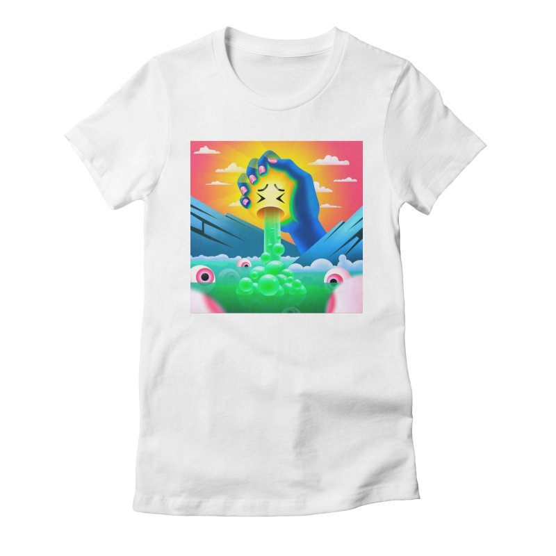 The squeeze Women's T-Shirt by Utter Garbage Nonsense